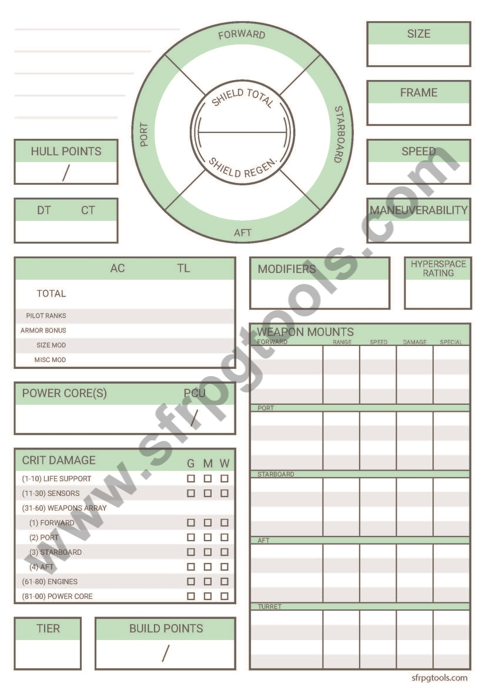 photograph about Starfinder Character Sheet Printable identify Choice Starfinder Temperament Sheet